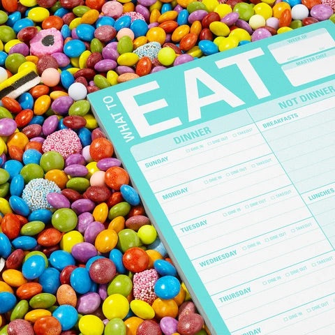 What To Eat Note Pad