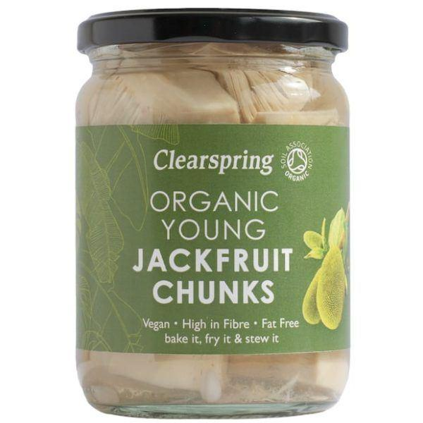Clearspring - Organic Young Jackfruit Chunks (500g) - TheVeganKind