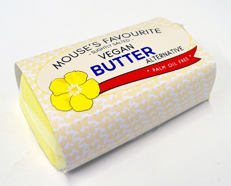 Mouse's Favourite - Slightly Salted Vegan Butter Alternative (180g)