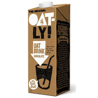 Oatly Original Chocolate Oat Milk (1ltr) - TheVeganKind