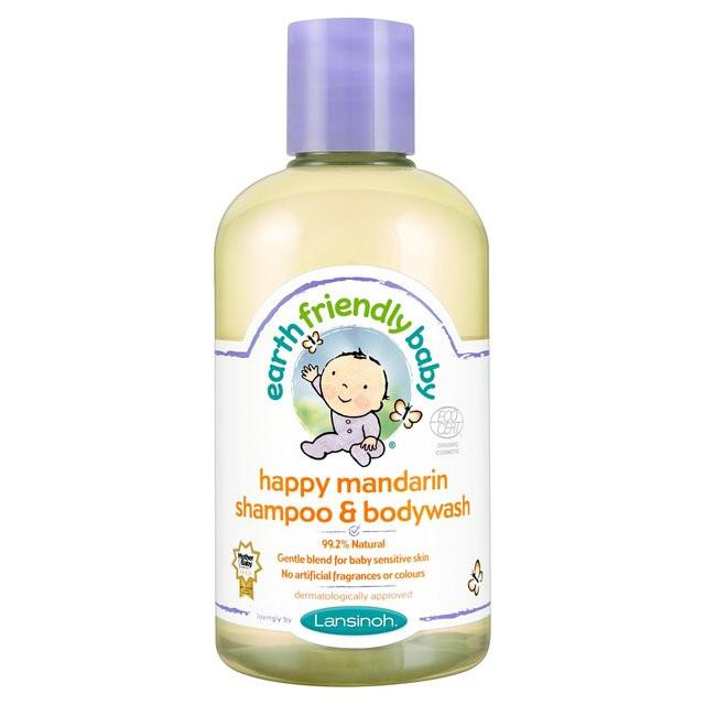 Earth Friendly Baby Natural and Organic Shampoo & Body Wash (250ml) (Various) - TheVeganKind