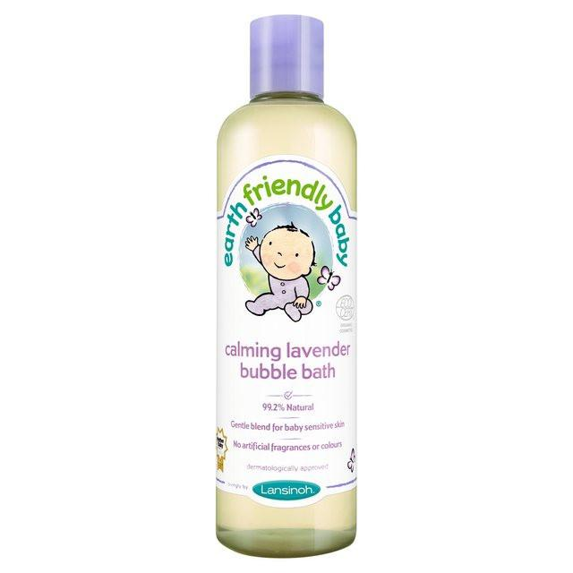 Earth Friendly Baby Natural and Organic Calming Lavender Bubble Bath (300ml) - TheVeganKind