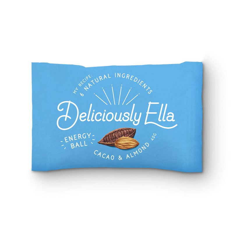 Deliciously Ella - Cacao & Almond Ball (40g) - TheVeganKind