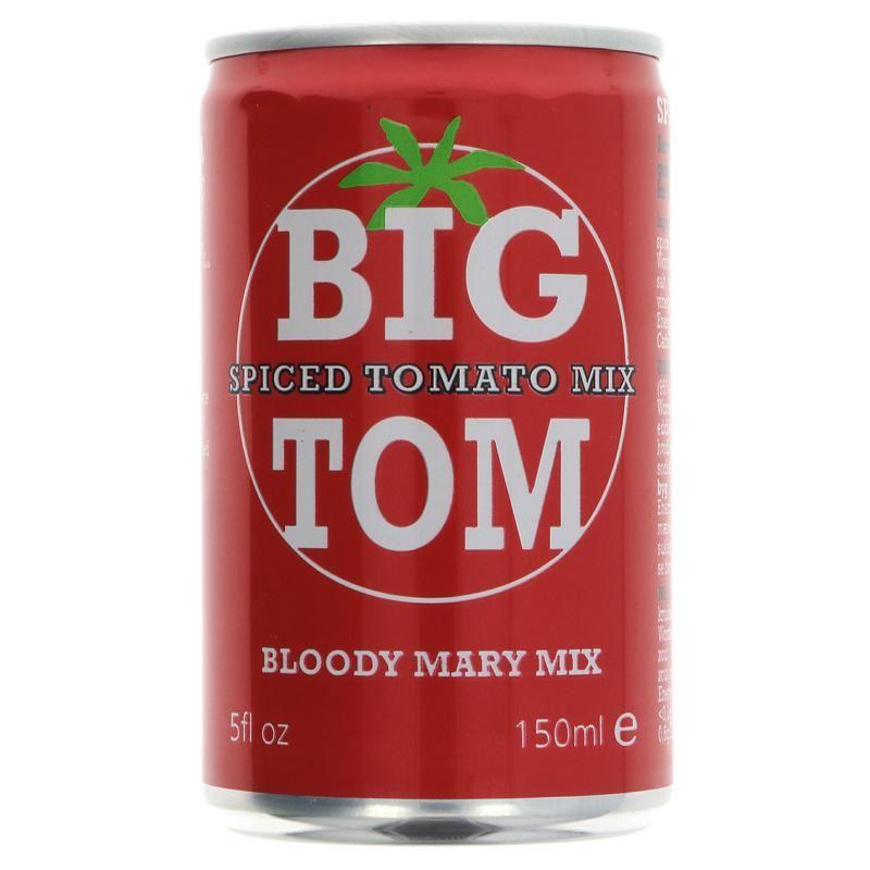 Big Tom - Spiced Tomato Mix - Bloody Mary Mix (150ml) - TheVeganKind