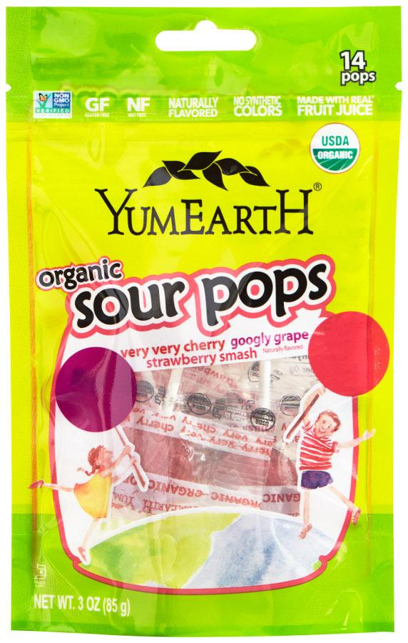 Yum Earth Sour Pops (75g) - TheVeganKind