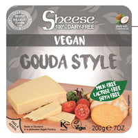 Bute Islands - Sheese 100% Dairy Free Cheese - Gouda Style Block (200g) - TheVeganKind