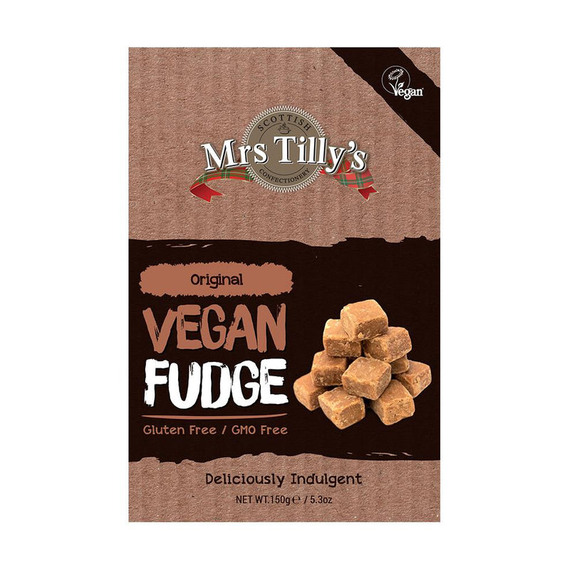 Mrs Tilly's - Original Vegan Fudge (150g)