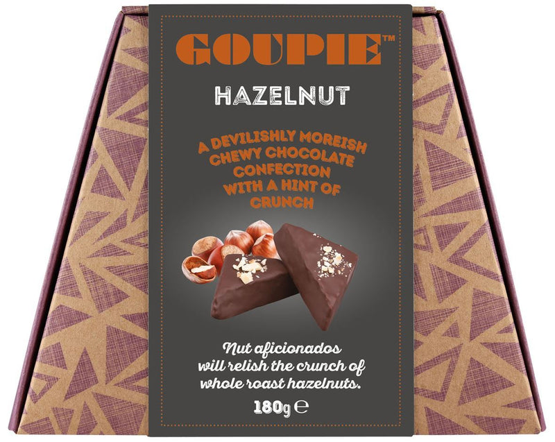 Goupie - Hazelnut (Devilishly Moreish Chocolate Confection) (180g)