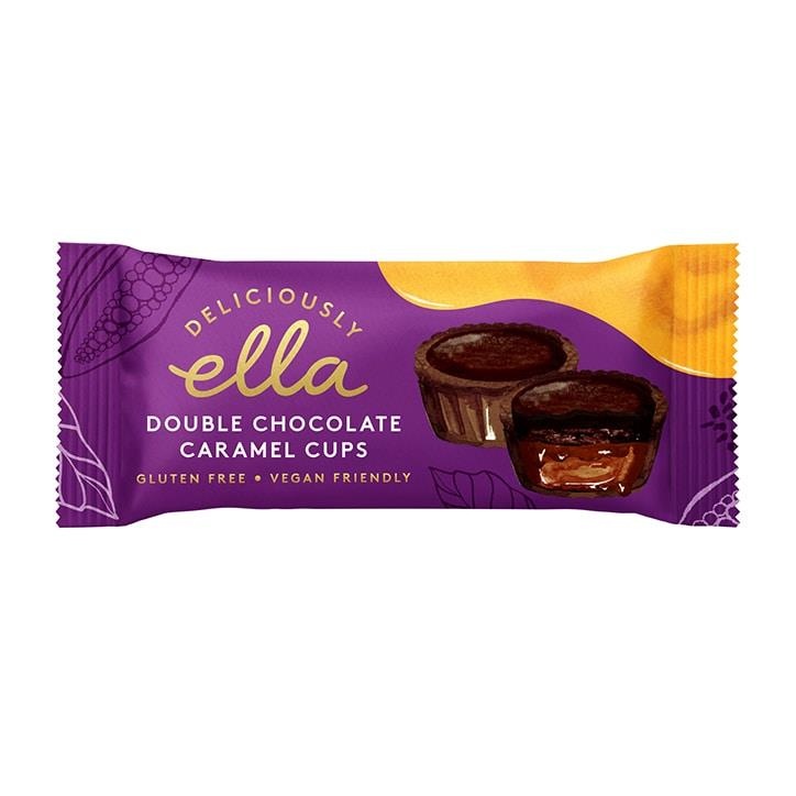 Deliciously Ella - Double Chocolate Caramel Cups (36g)