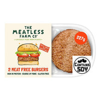 Meatless Farm Co - Meat Free Plant Based Burgers (2 Pack) (227g)