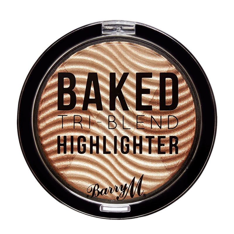 Barry M - Baked Tri-Blend Highlighters (various) - TheVeganKind