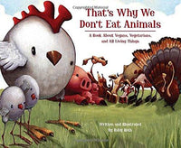 That's Why We Don't Eat Animals - A Book About Vegans, Vegetarians and All Things Living. - TheVeganKind