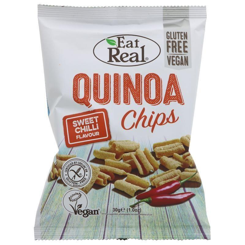 Eat Real - Sweet Chilli Quinoa Chips (30g)