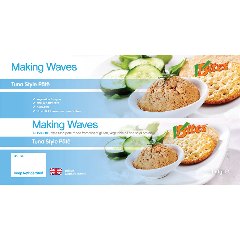 VBites Making Waves Tuna Style Pate (150g) - TheVeganKind