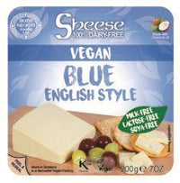 Bute Islands - Blue English Style Sheese Wedge (200g) - TheVeganKind