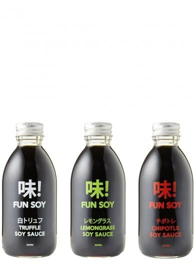Fun Soy Flavoured Soy Sauce (250ml) - TheVeganKind
