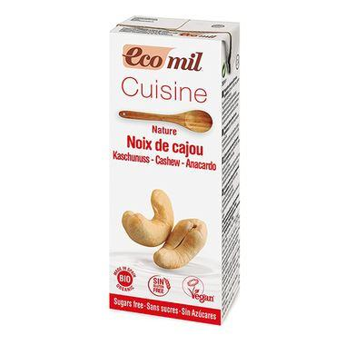 Ecomil - Cashew Cuisine Cooking Cream (200ml) - TheVeganKind