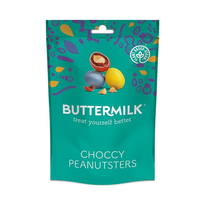Buttermilk - Choccy Peanutsters (100g)