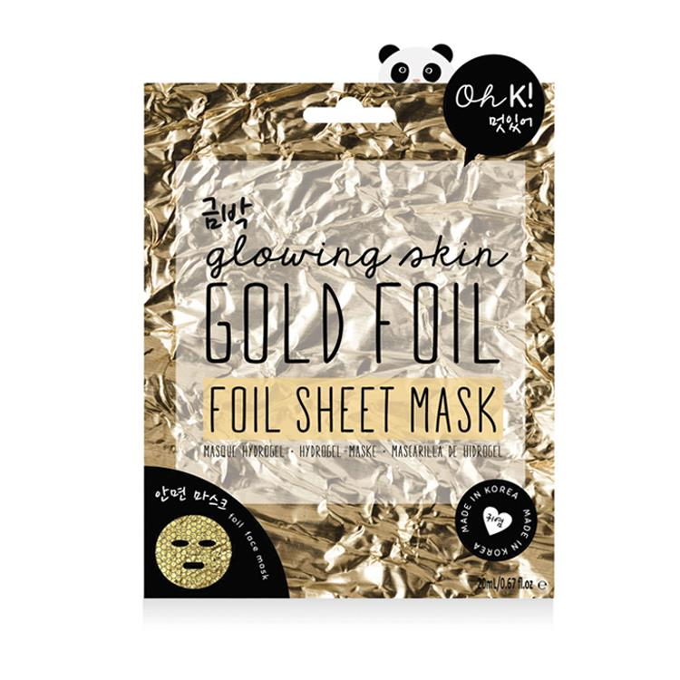 Oh K! - Gold Foil Sheet Hydrating Face Mask (35ml)