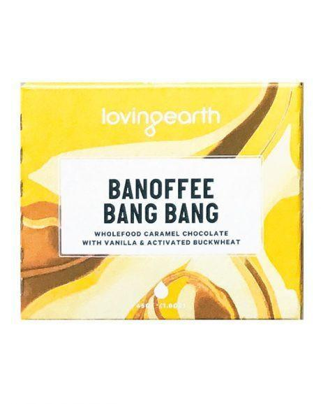 Loving Earth Banoffee Bang Bang (45g) - TheVeganKind