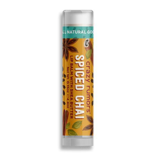 Crazy Rumors - Spiced Chai Vegan Lip Balm (4ml) - TheVeganKind