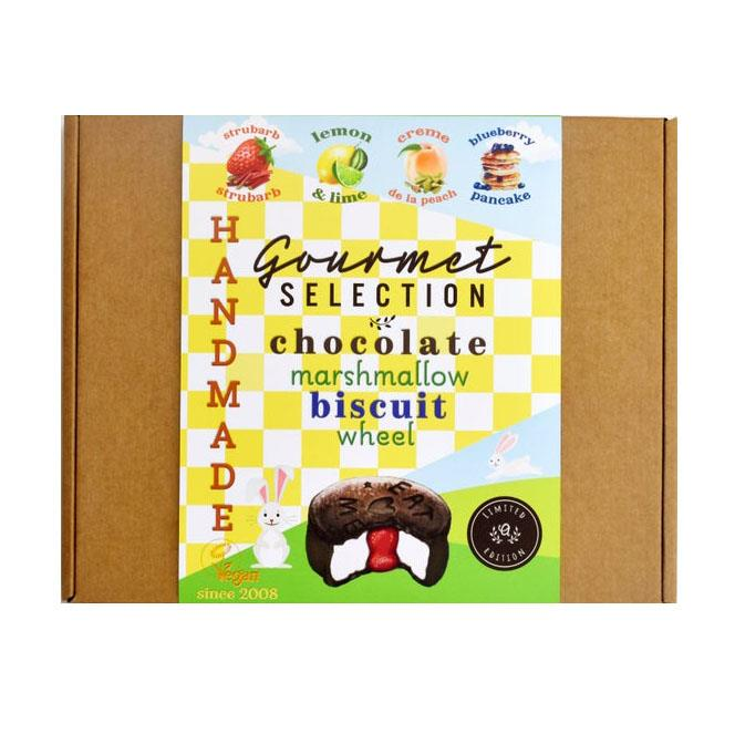 Ananda's - Gourmet Easter Round Up Marshmallow Biscuit Gift Box (4x68g)
