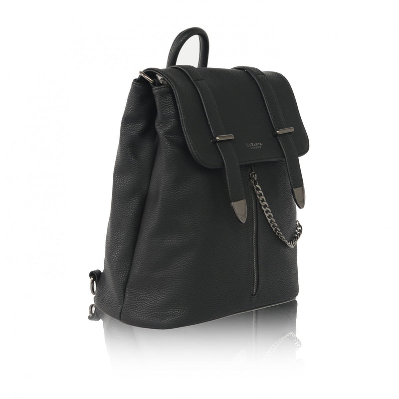 LaBante - Agnes Black Backpack