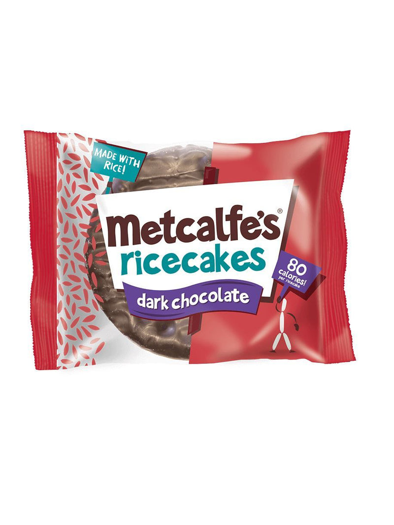 Metcalfe - Rice Cakes with Dark Chocolate (34g)