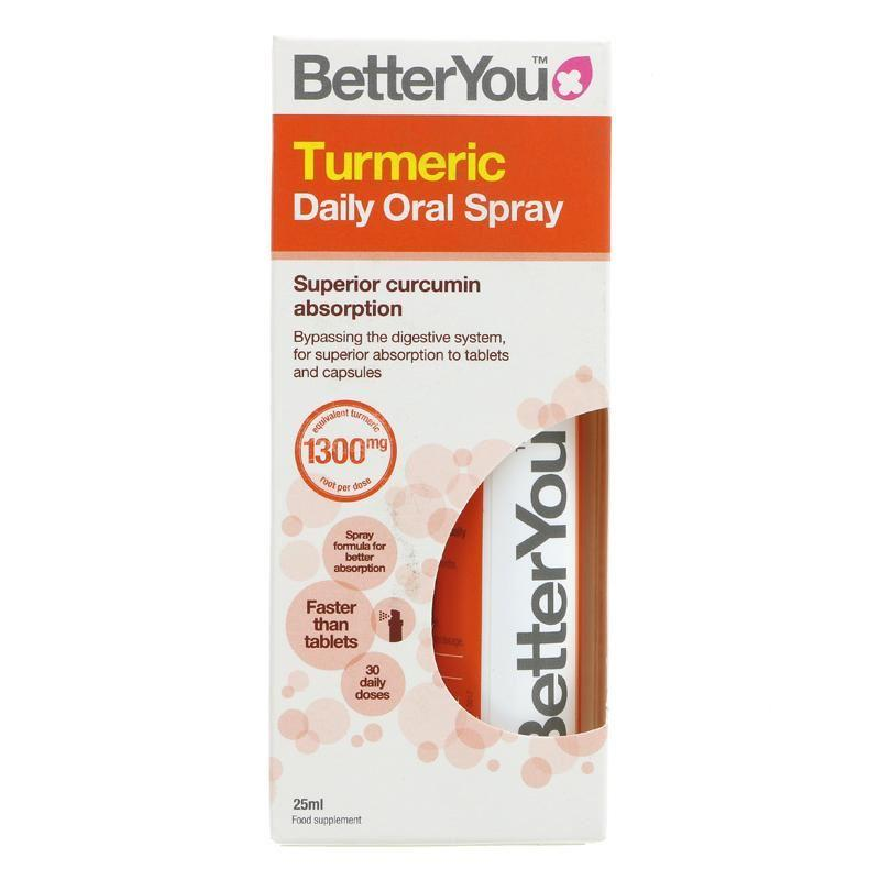 Better You - Turmeric Daily Oral Spray (25ml) - TheVeganKind