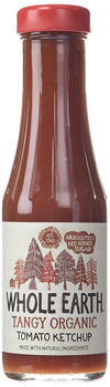 Whole Earth Tangy Organic Tomato Ketchup (340g) - TheVeganKind