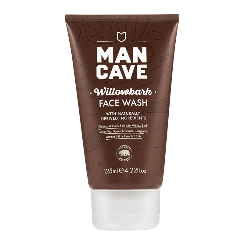 ManCave - Willowbark Face Wash (125ml)