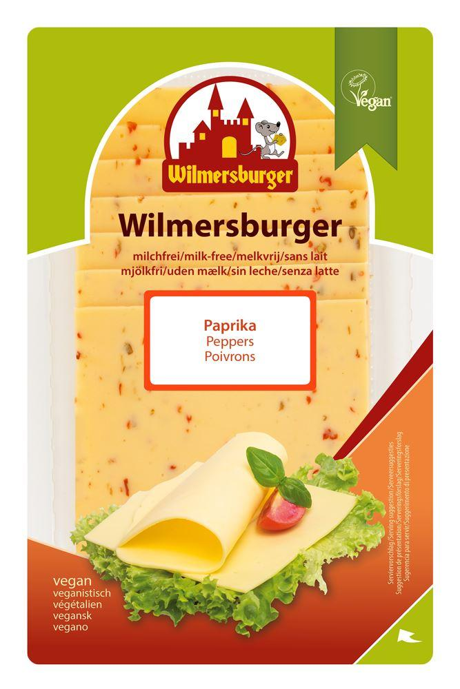 (Use By 27/6) Wilmersburger - Paprika Flavour Slices (150g) - TheVeganKind