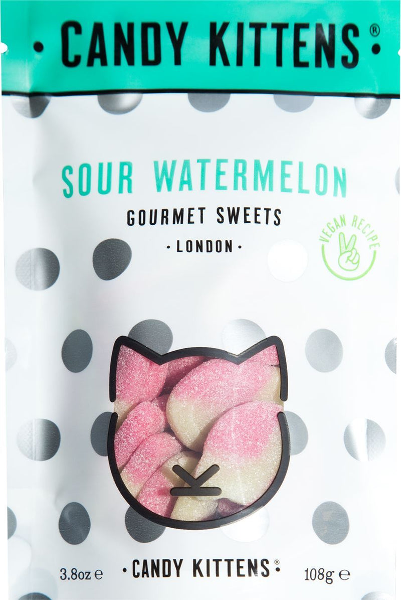 Candy Kittens - Sour Watermelon (Various sizes) - TheVeganKind