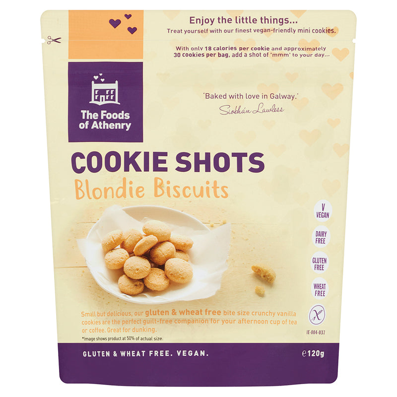 The Foods of Athenry Cookie Shots - Blondie Biscuits (120g)
