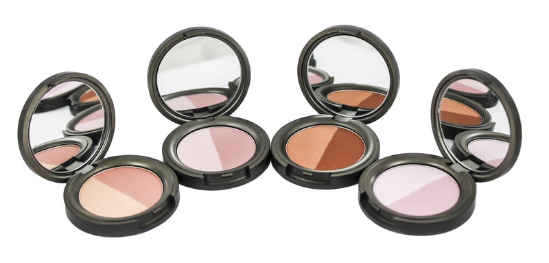 BWC Natural Range Mineral Duo Pressed Blushers (Various) - TheVeganKind