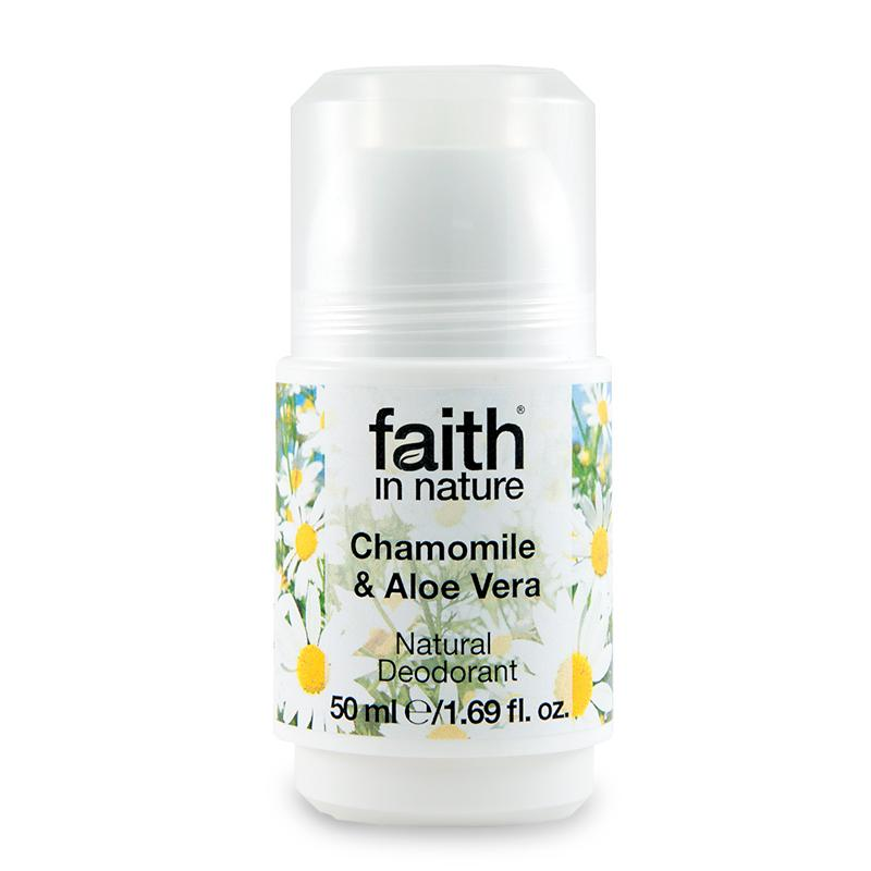 Faith In Nature Natural Deodorant - Chamomile & Aloe Vera