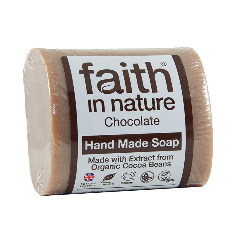 Faith In Nature Hand Made Soap, Chocolate