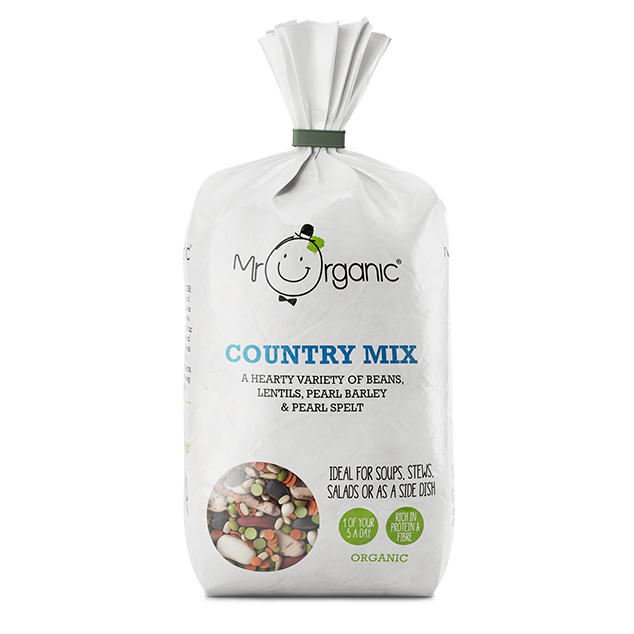 Mr Organic Country Mix (500g) - TheVeganKind