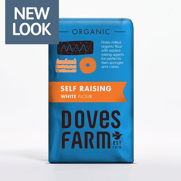 Doves Farm Organic Self Raising White Flour (1KG)