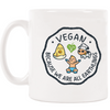 "TVK Mug ""Vegan - Because We Are All Earthlings"" - TheVeganKind"