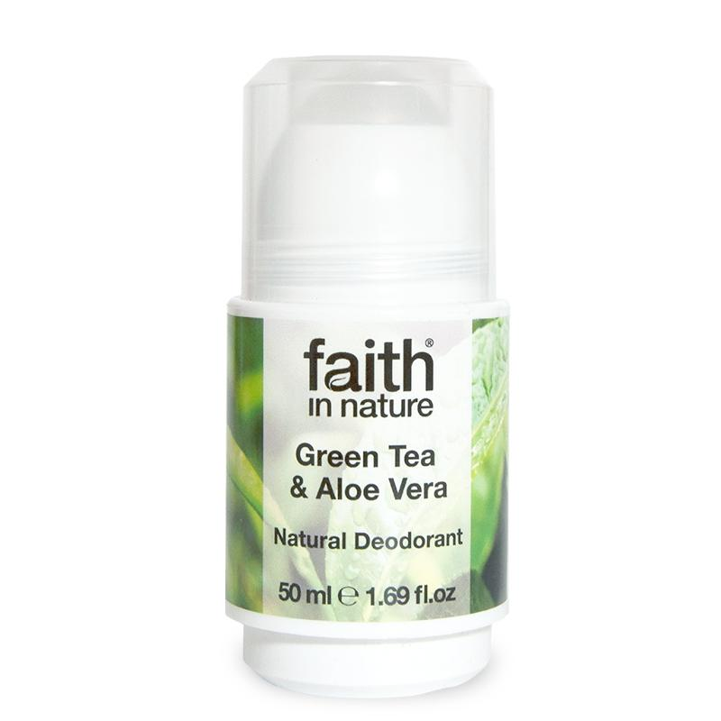 Faith In Nature Natural Deodorant - Green Tea & Aloe Vera
