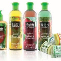 Faith In Nature Shower Gel & Foam Bath (400ml) (Various) - TheVeganKind