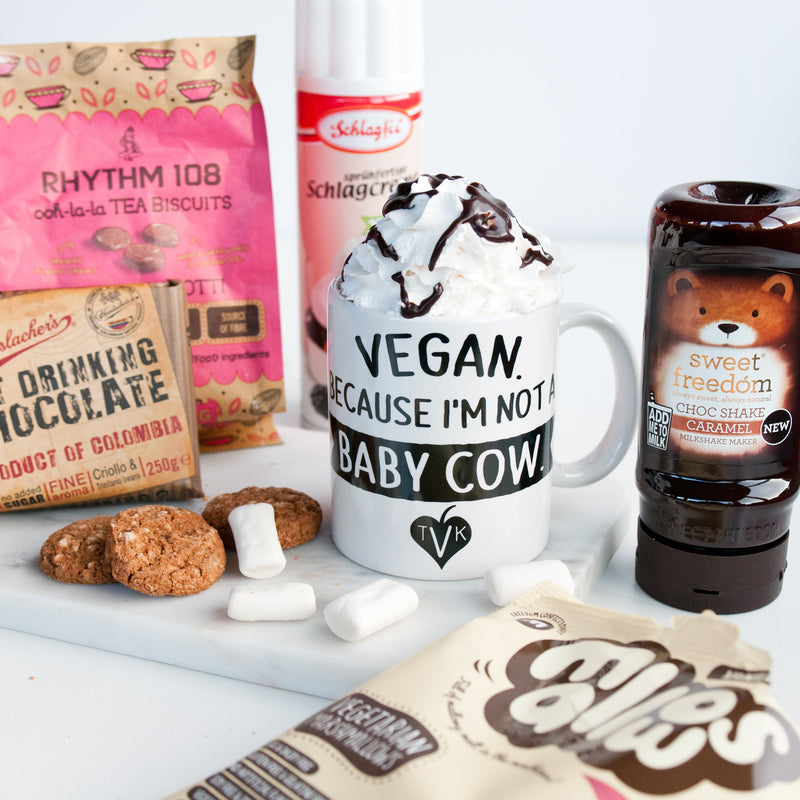 Luxury Vegan Hot Chocolate Gift Box - TheVeganKind