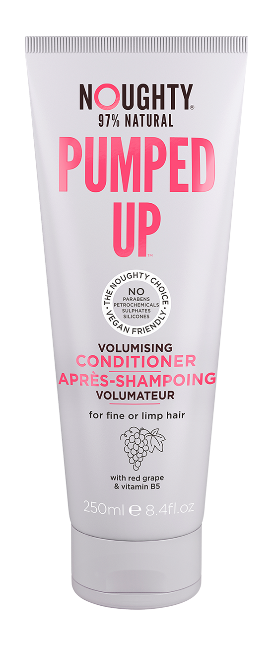 "Noughty ""Pumped Up"" Volumising Shampoo & Conditioner (250ml) - TheVeganKind"