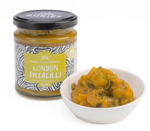 (Best Before September 18) Rubies in the Rubble Relish - London Piccalilli (210g) - TheVeganKind