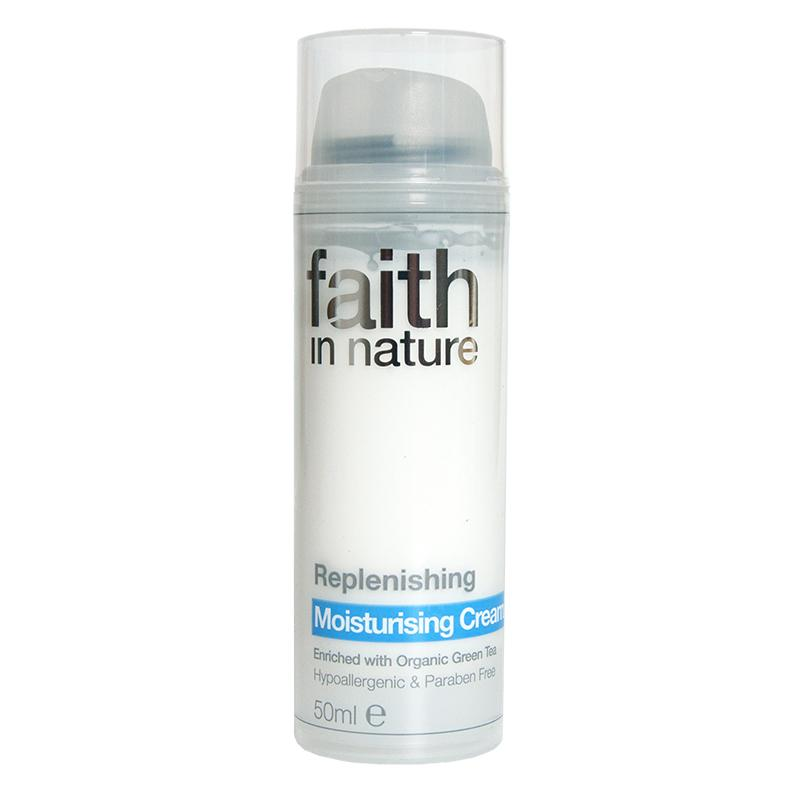 Faith In Nature Replenishing Moisturising Cream (50ml)