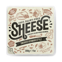 Bute Island - Sheese 100% Dairy Free Cheese - Smoked German Style Round (200g)