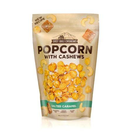 East Bali Cashews - Salted Caramel Popcorn with Cashews (90g)