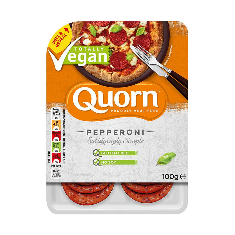 Quorn - Vegan Pepperoni Slices (100g)