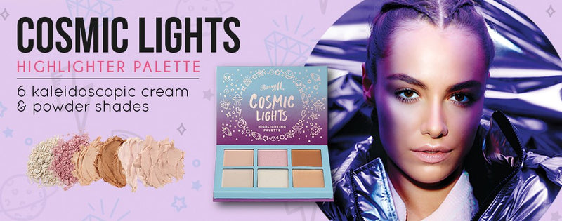 Barry M Cosmic Lights Highlighting Palette - TheVeganKind